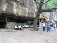 Lunch in the cave