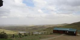 Panoramic views from Tiffindell Ski Resort